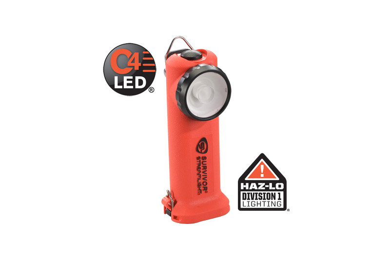 Linterna de angulo recto Survivor de Streamlight con LED C4